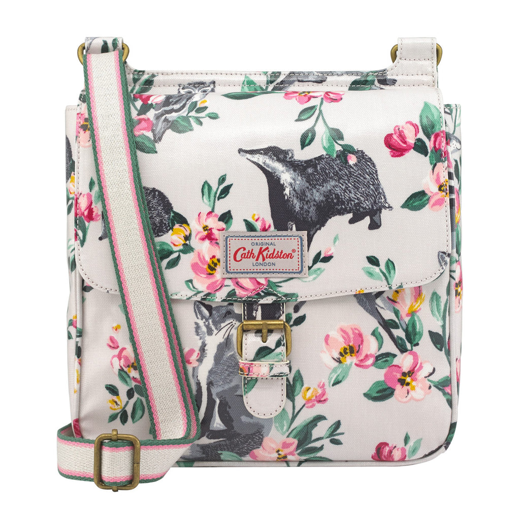 Cath Kidston Badgers And Friends Tab Saddle Bag