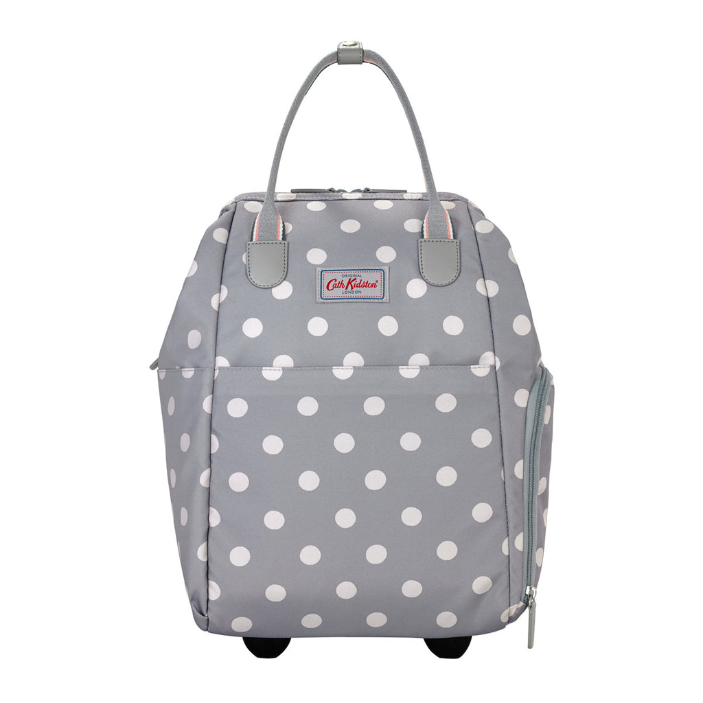 Cath Kidston Button Spot Frame Backpack With Wheels