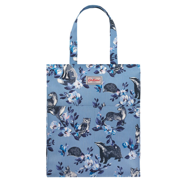 Cath Kidston Badger & Friends Pocket Zipped Shopper | Wysteria Lane
