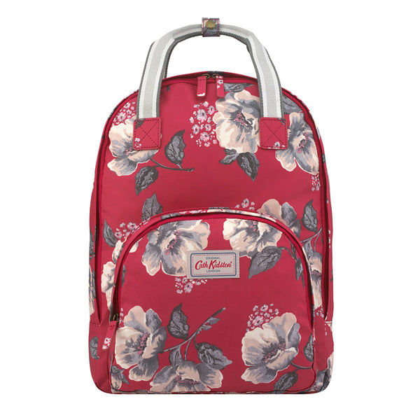 Cath Kidston Wild Poppies Multi Pocket Backpack | Wysteria Lane