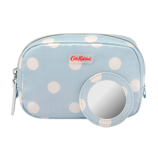 Cath Kidston Button Spot Classic Box Make-Up Case