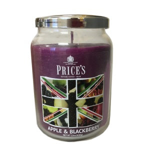 Prices British Range Apple & Blackberry Large Candle