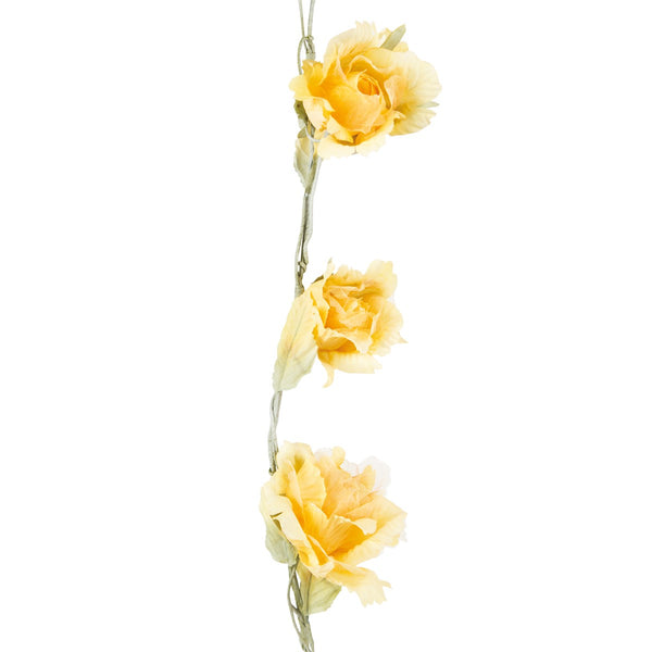 Vintage Yellow Rose Garland