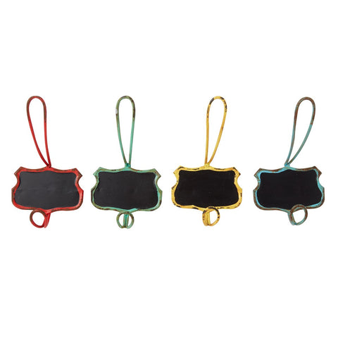 Chalkboard Iron Wall Hook - Various Colours