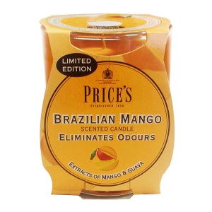 Prices Brazilian Mango Odour Eliminating Candle