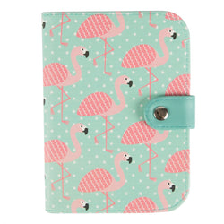 Tropical Flamingo Passport Cover