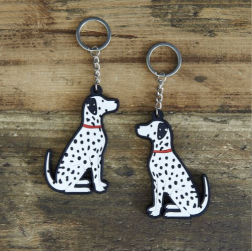 Dalmation Keyring by Sweet William