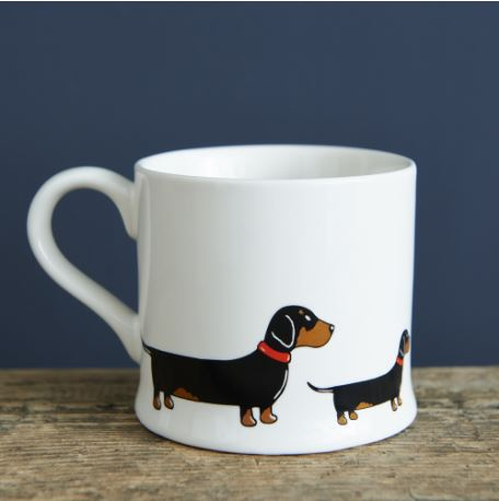 Daschund / Sausage Dog Mug by Sweet William