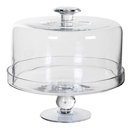 Large Glass Dome Cake Stand | Wysteria Lane Boutique
