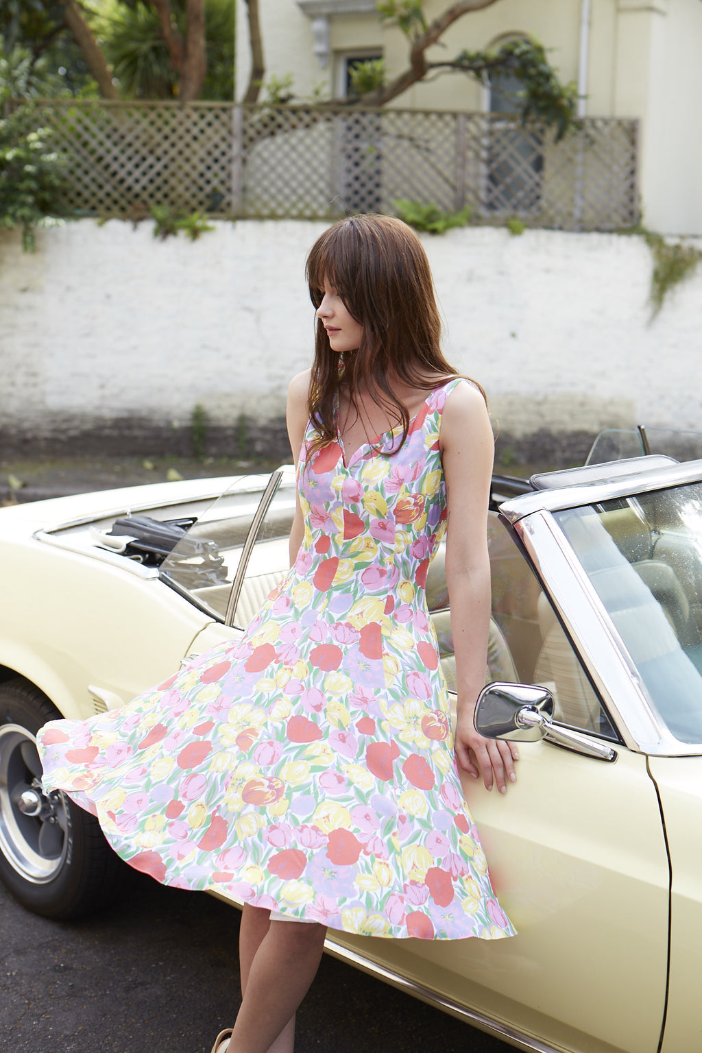 Holland Tulip Dress - By Sixton London
