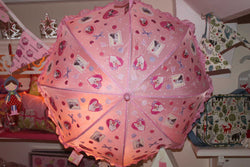 Its Raining Cats and Dogs Pink Girls Umbrella - NOW 50% OFF