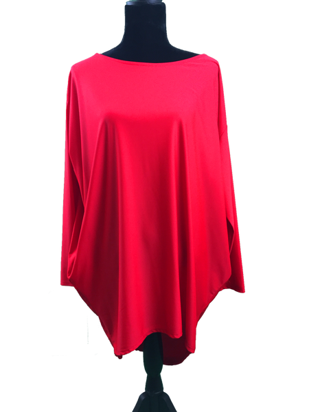 Fox Long Sleeved Oversize Top - Various Colours