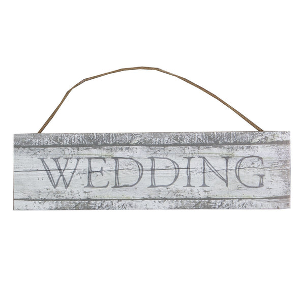 Coastal Chic Wedding Hanging Sign