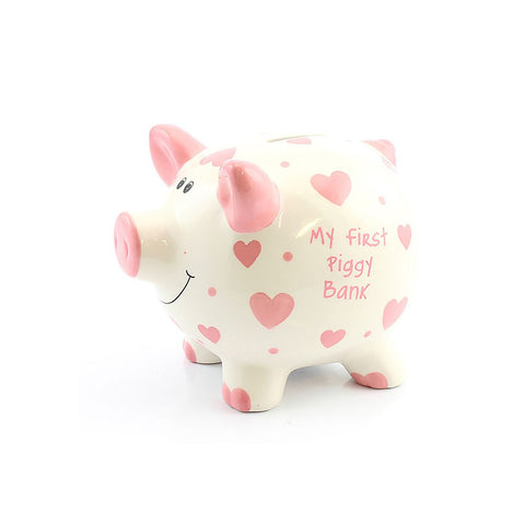 My First Money Heart Piggy Banks
