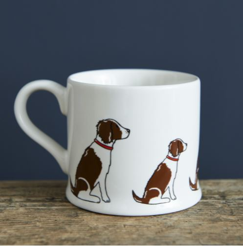 Liver and Tan Springer Spaniel Mug by Sweet William