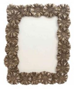 Pewter Resin Daisy Picture Frame 18x23x2cm