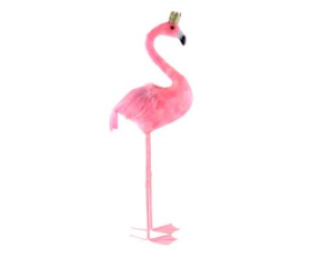 Large Pink Feather Crown Flamingo