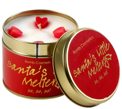 Bomb Cosmetics Santa's Little Melter Candle