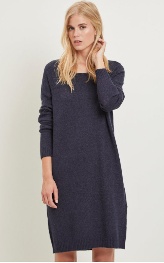 Vila Viril Simple Knitted Dress