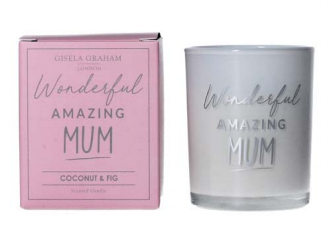 Wonderful Amazing Mum Mini Candle