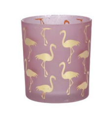 Pink Flamingo T-light Holder