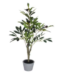 Artificial Potted Olive Plant