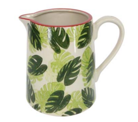 Cheese Plant Ceramic Jug