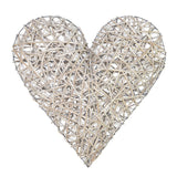 Woven Willow Heart Large