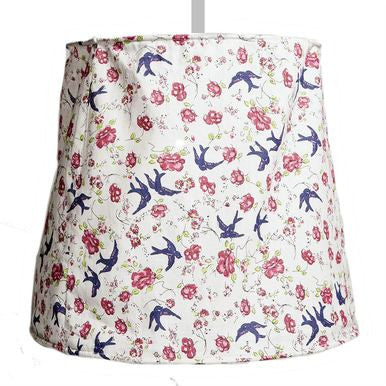 Vintage Floral Fabric Lamp Shade