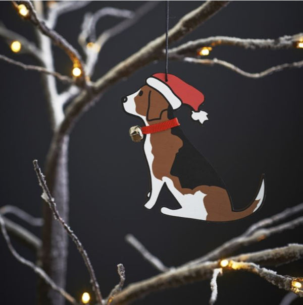 Beagle Dog Christmas Tree Decoration by Sweet William