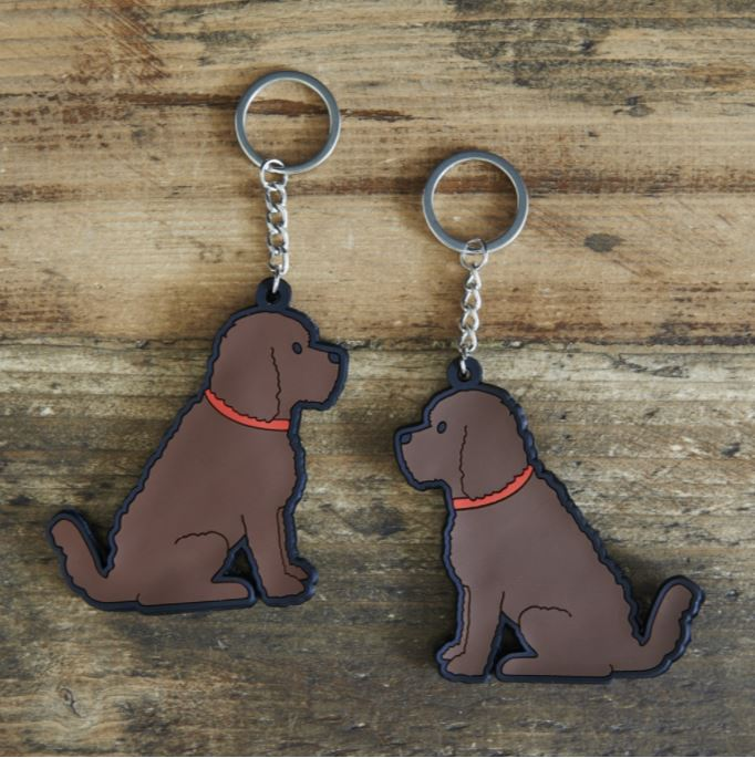 Cockerpoo Dog Keyring by Sweet William