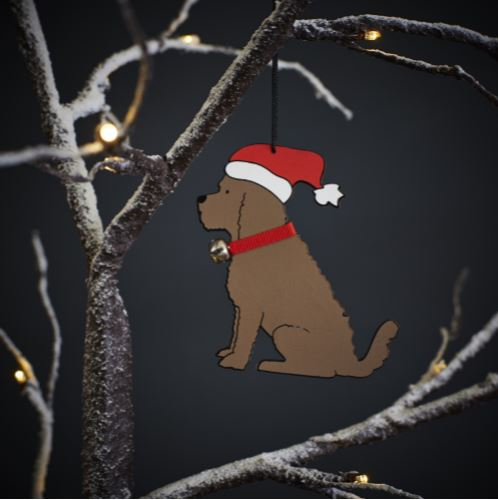 Cockapoo Dog Christmas Tree Decoration by Sweet William
