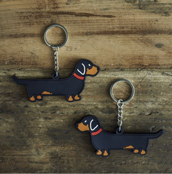 Dacshund Dog Keyring by Sweet William