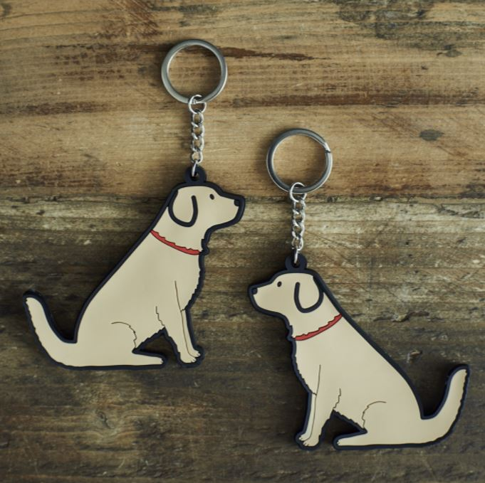 Golden Retriever Dog Keyring by Sweet William