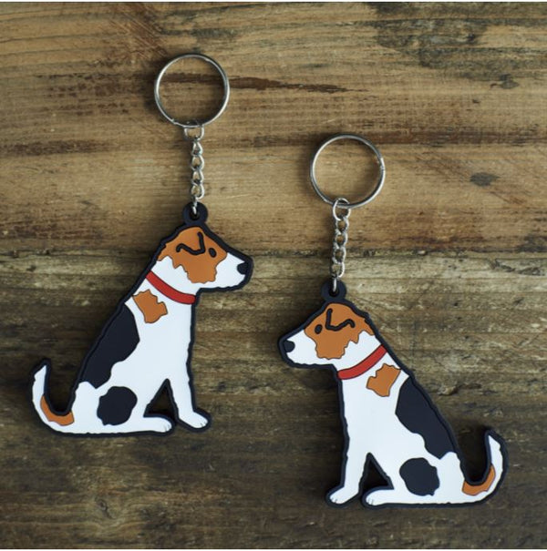Jack Russell Dog Keyring by Sweet William