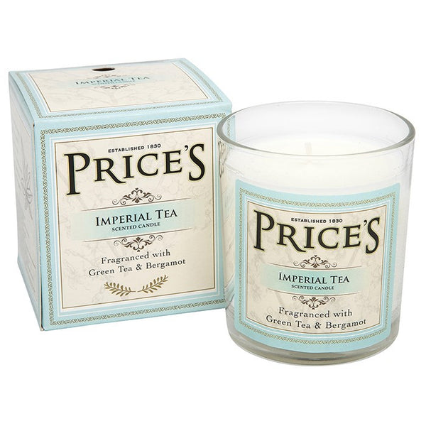 Prices Imperial Tea Scented Candle