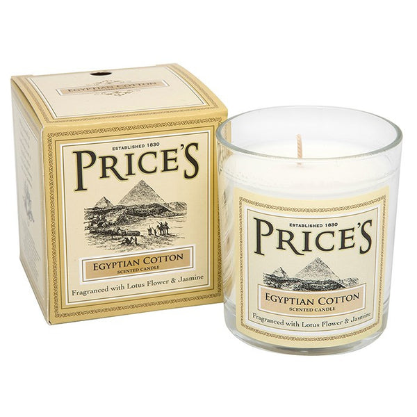 Prices Egyptian Cotton Scented Candle
