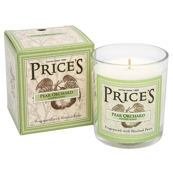 Prices Pear Orchard Scented Candle