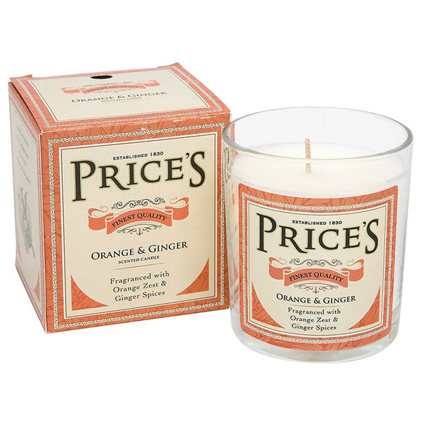 Prices Orange & Ginger Candle