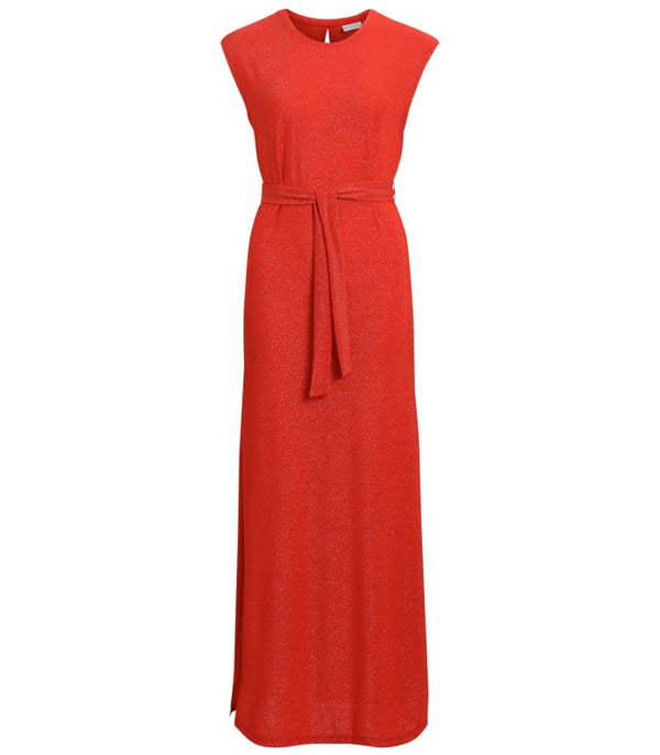 Vila Vilejana Red Maxi Dress | Wysteria Lane