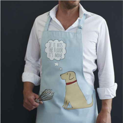 Yellow Labrador Apron by Sweet William