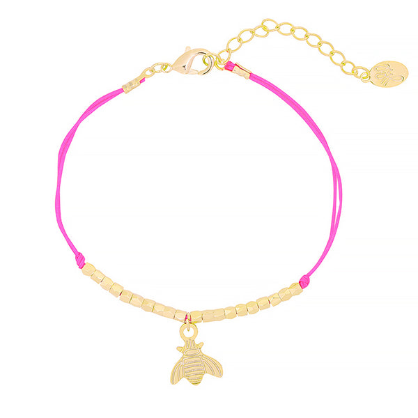 NO CHAOS Let's Fly Armband - Pink