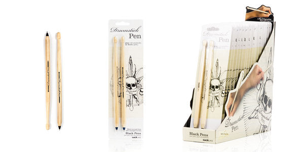 Suck Uk Black Drumsticks Pens (set van 2)