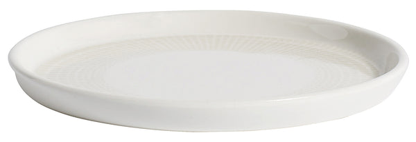 Nordal cake plate graphic white klein - NO CHAOS & CO
