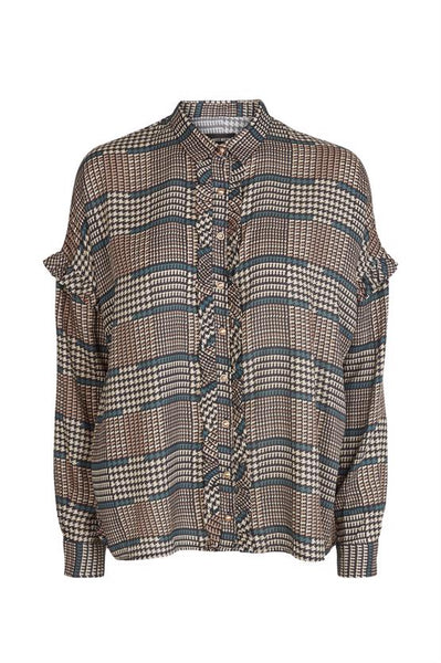 Mos Mosh RAFFEY CHECK SHIRT