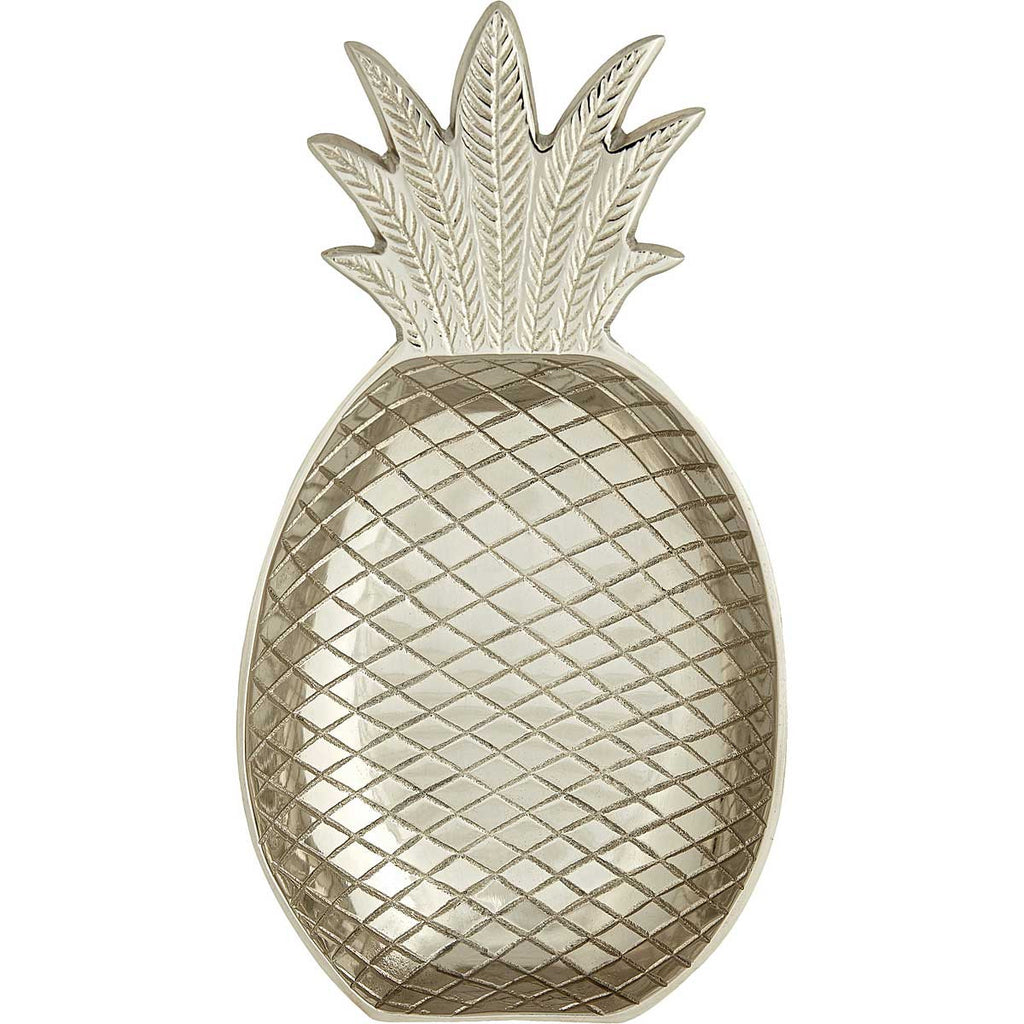 LIV Interior Pineapple schaal - zilver - medium