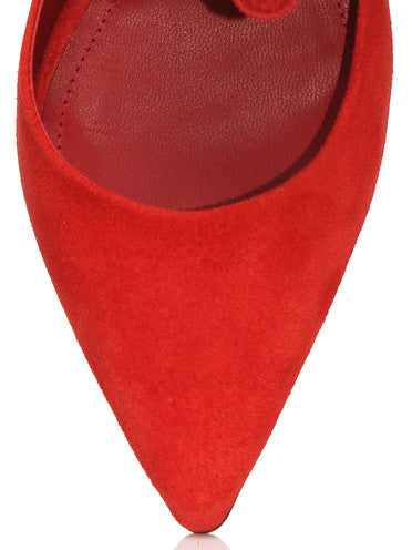 Anonymous Hilaria Suede - Red