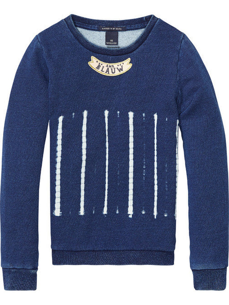 Amsterdam Blauw Scotch R'Belle Sweater - NO CHAOS & CO