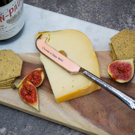 La de da Living Limited Cheese knife - Cheese & Wine time - NO CHAOS & CO