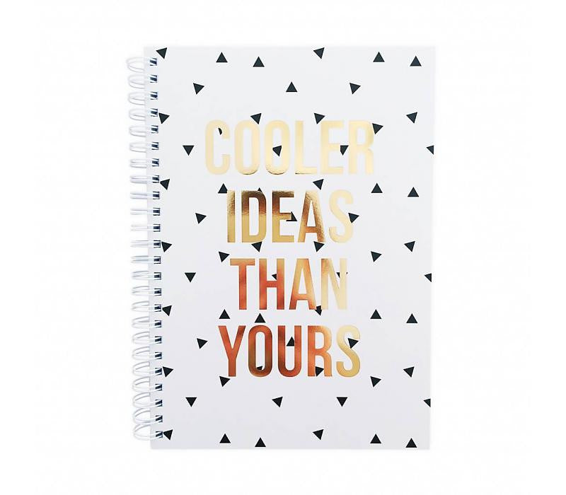 NO CHAOS Notebook 'Cooler Ideas Than Yours'